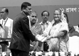 কৃষিবিদ ড. মো: শরফ উদ্দিন এর  বঙ্গবন্ধু জাতীয় কৃষি পুরস্কার অর্জন