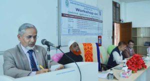 হাবিপ্রবি'তে কৃষি বিষয়ক উপাত্তের  পরিসংখ্যানিক ব্যবহার শীর্ষক কর্মশালা অনুষ্ঠিত